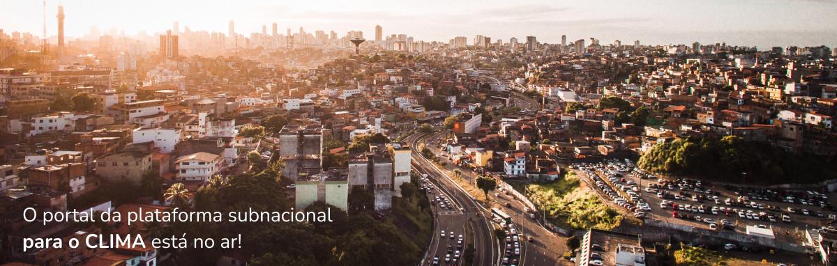 O portal da plataforma subnacional para o CLIMA está no ar!